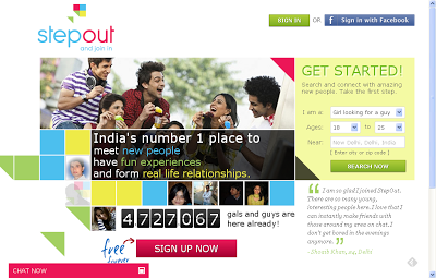 Step out and join in - Online Indian Dating Website by ignighter.com