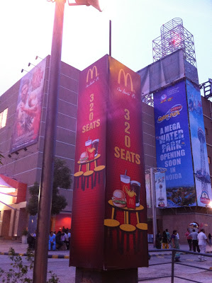 Biggest McDonald's in Noida has 320 Seats