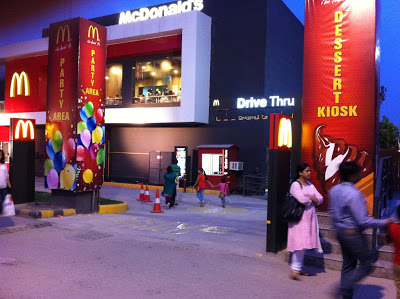 Drive-Thru and Dessert Kiosk at Noida's newest McDee