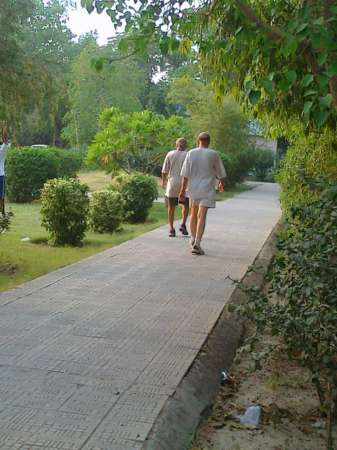Morning Walk in Noida Parks