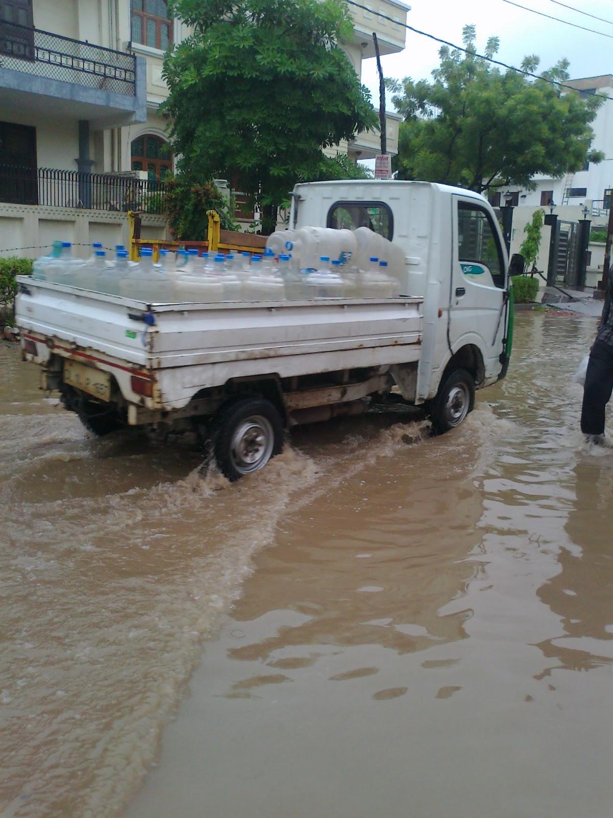 Come Rain, Come Sunshine! Always on the Move - Noida