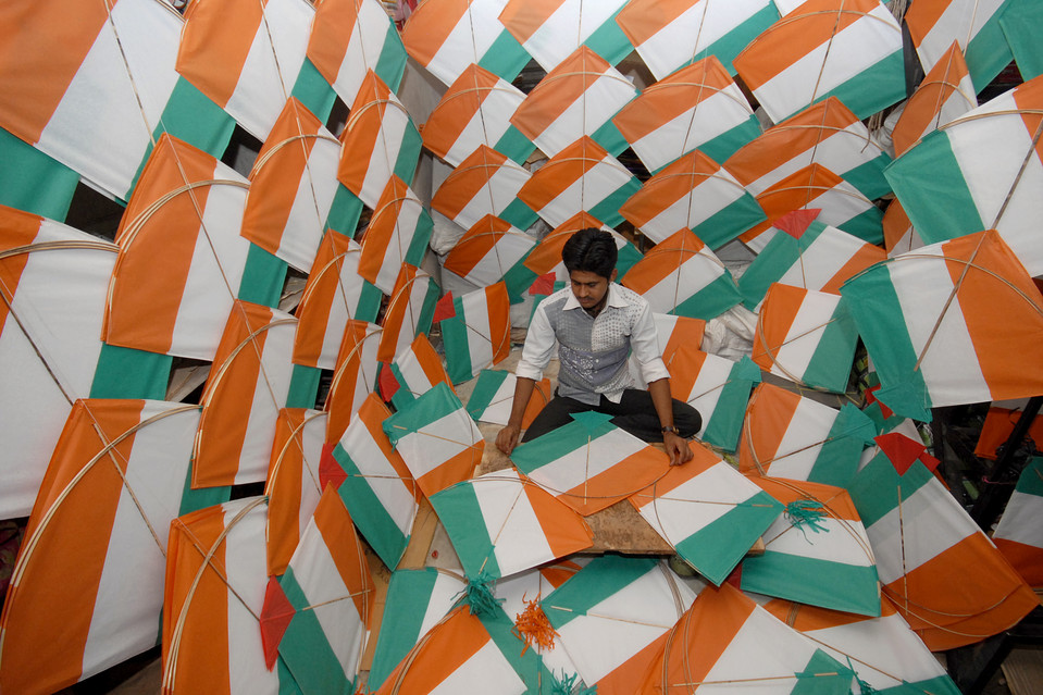 Noida Celebrates Independence Day 2013 with Fervour
