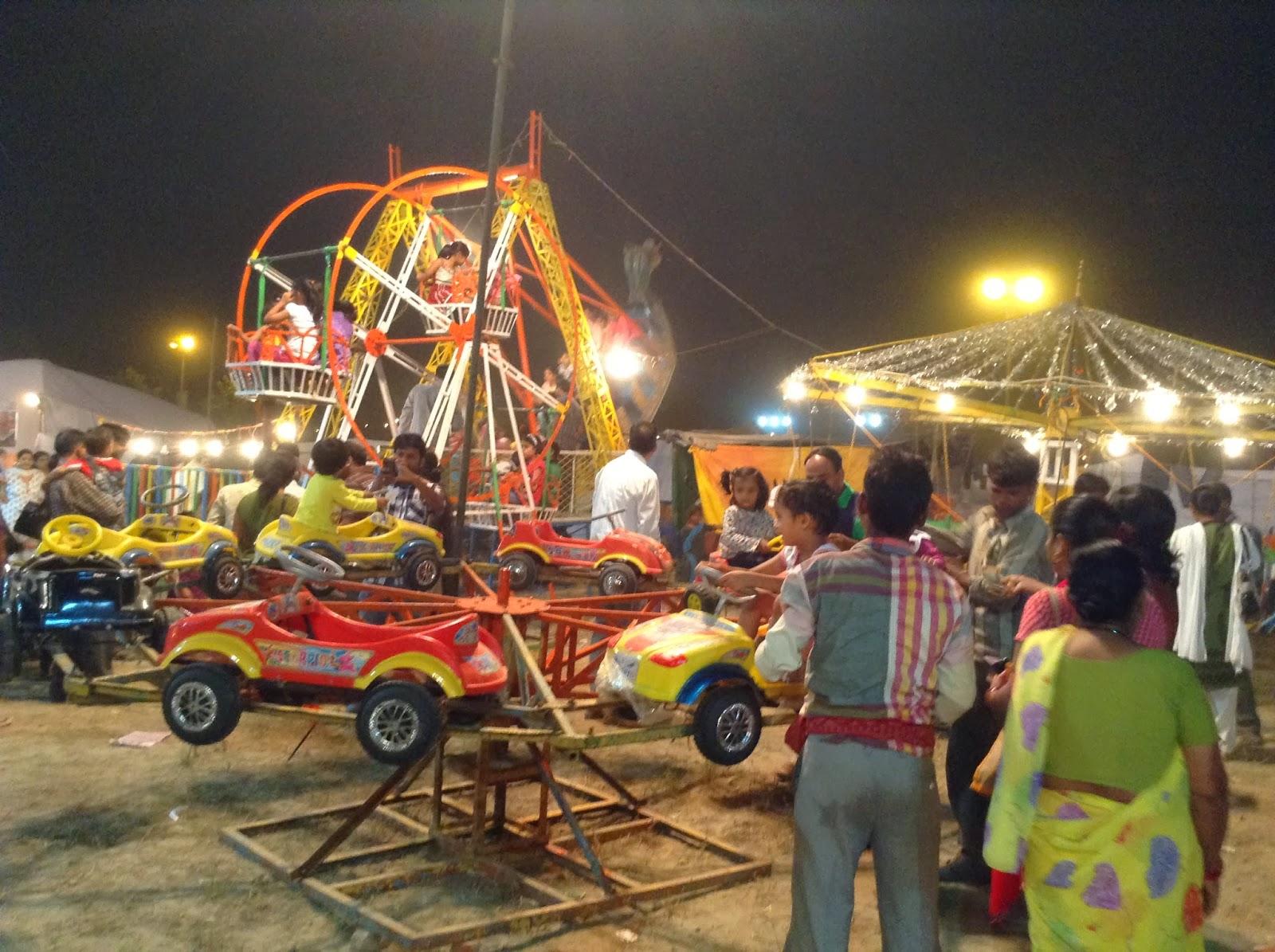 Kid Zone at Deep Utsav, Noida