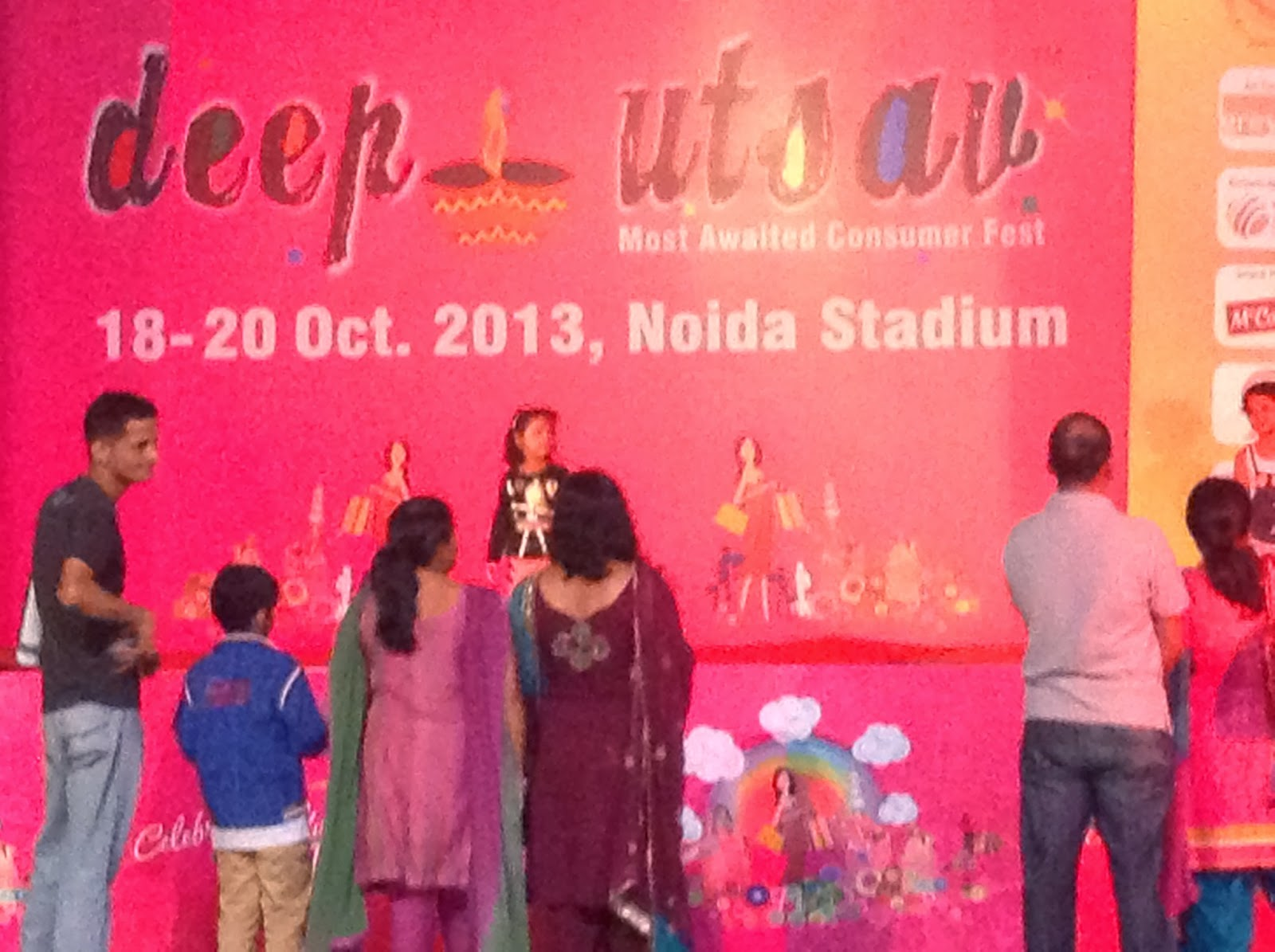 Deep Utsav 2013 at Noida Stadium
