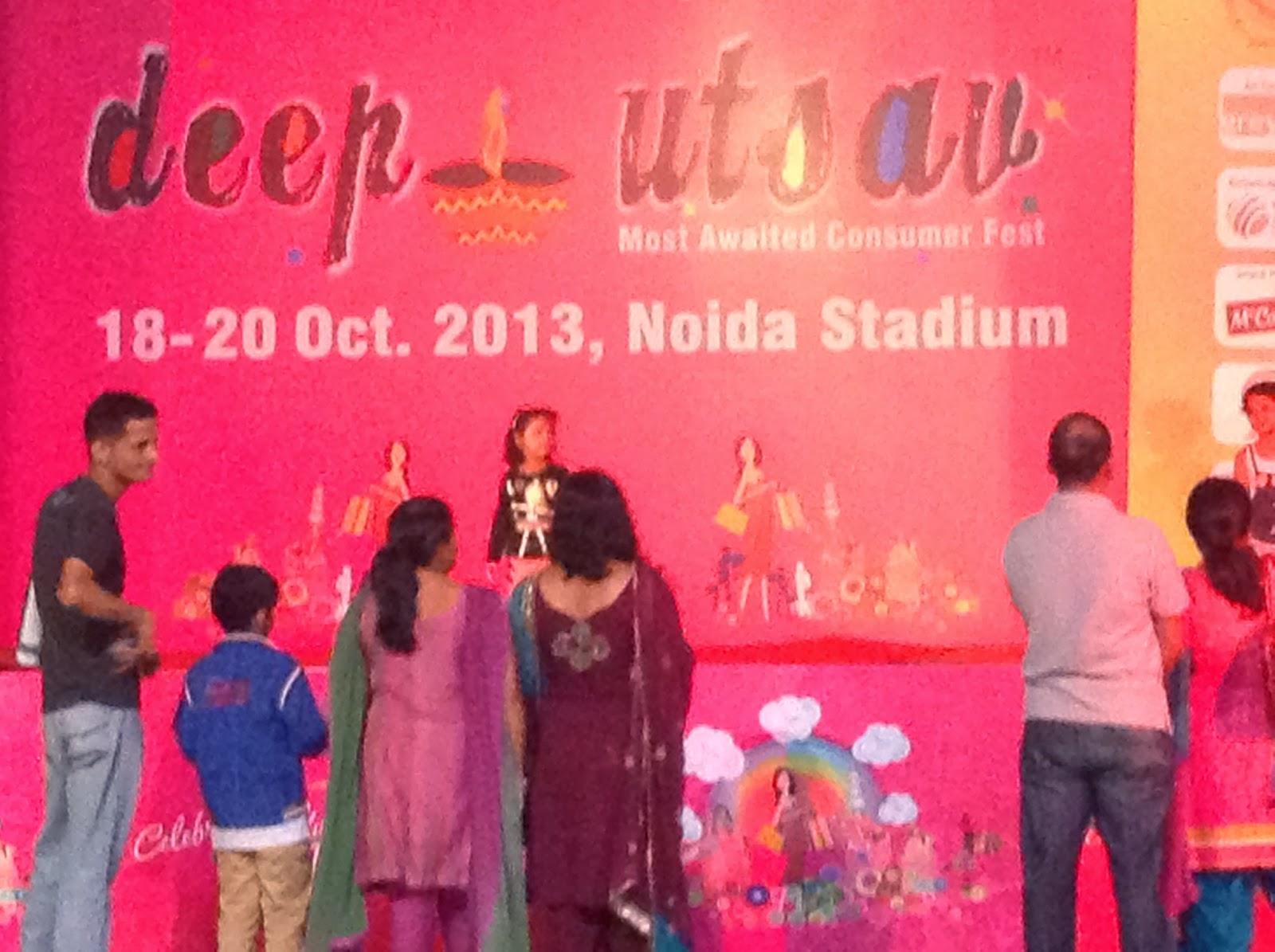 Deep Utsav 2013 at Noida Stadium