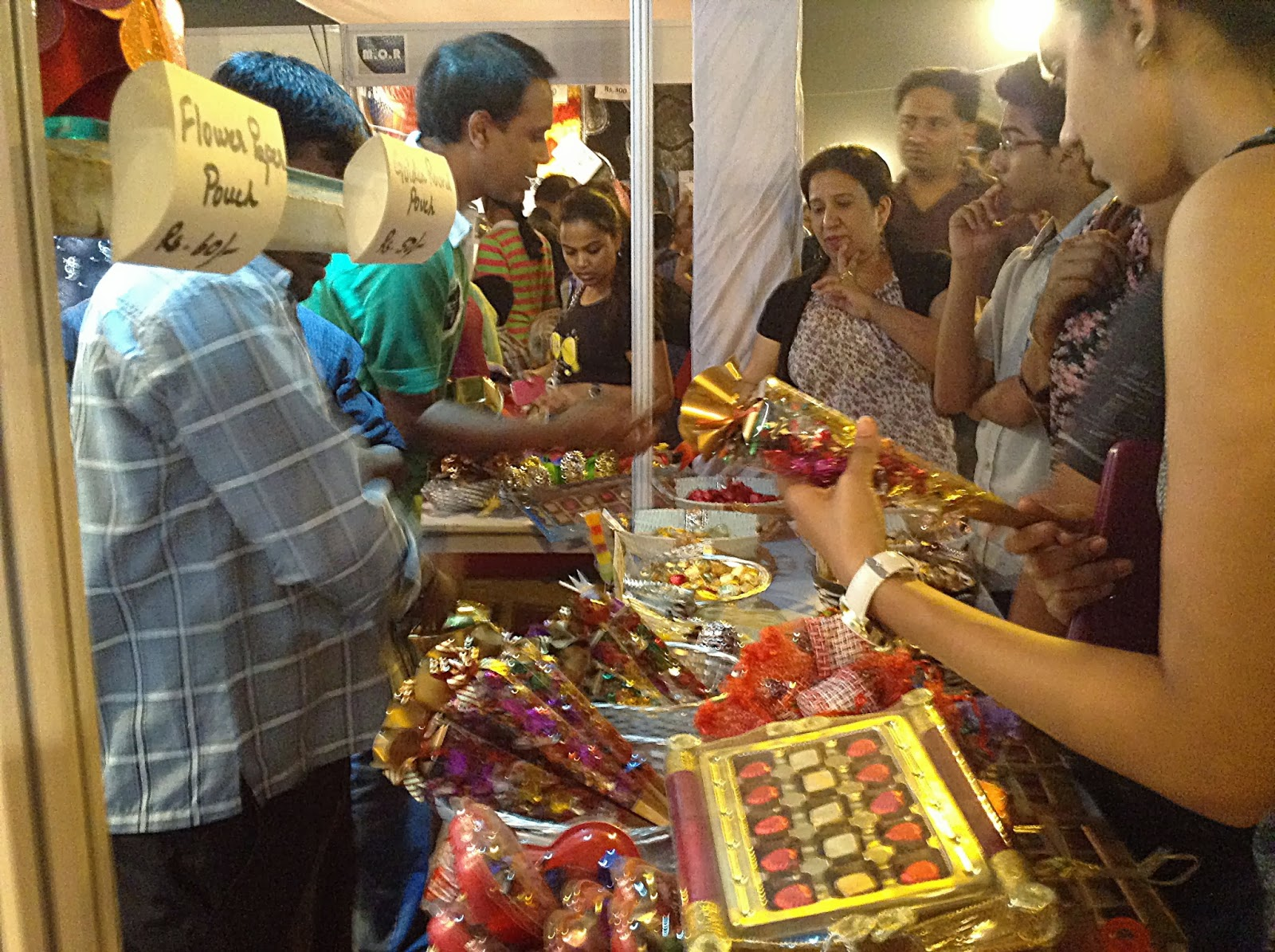 Assorted chocolate in colorful packs ideal gift for Diwali