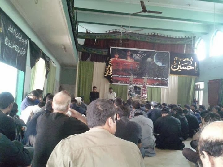 Majlis - Sham-e-Ghariban at Imambargah, Sector 50, Noida