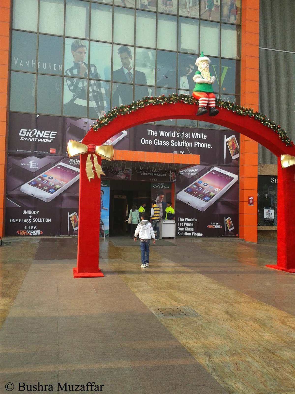 Make Way, Santa is coming to Noida!