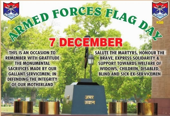 An occasion to commemorate the bravery and supreme sacrifice of our soldiers and collect welfare funds