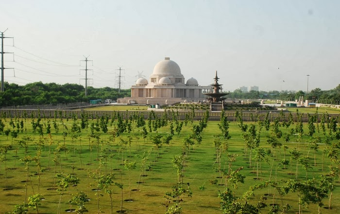 Green Garden of the Rashtriya Dalit Prerna Sthal, Noida