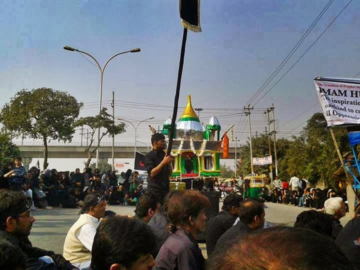 Juloos-e-Ashura - Tazia Procession in Noida on Muharram