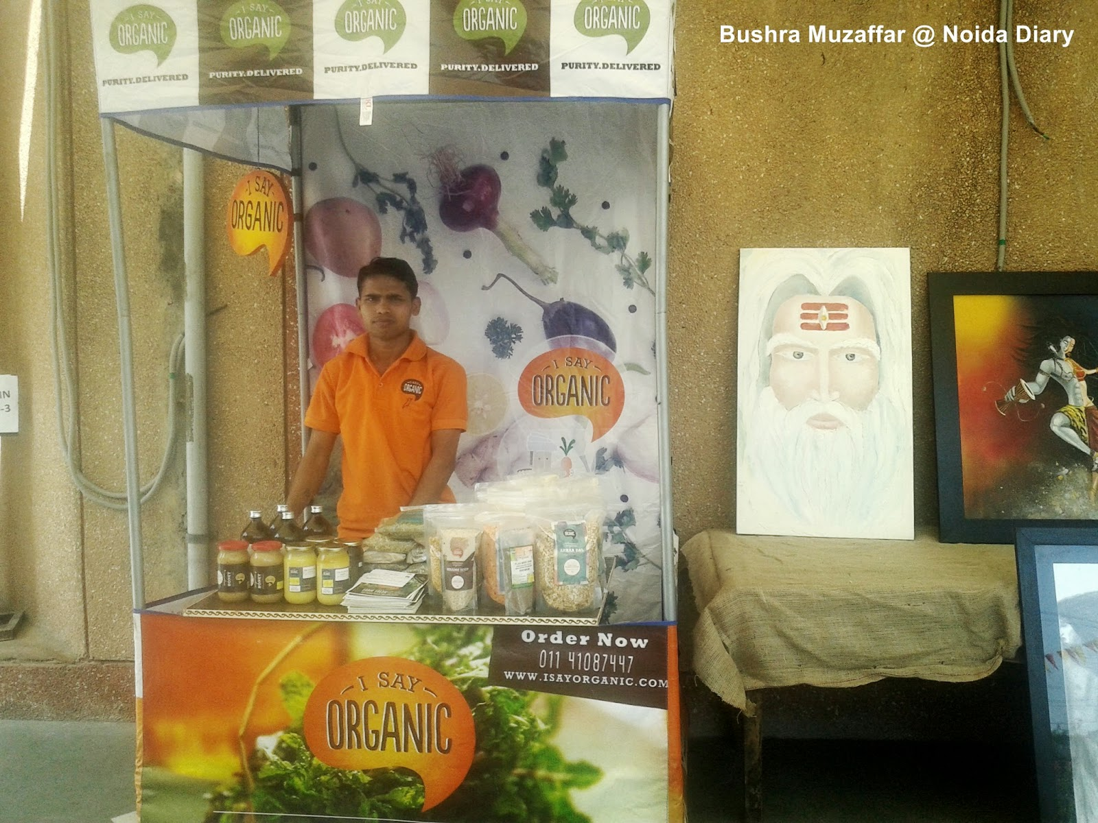 I Say Organic at Vasant Uday Spring Festival in Noida