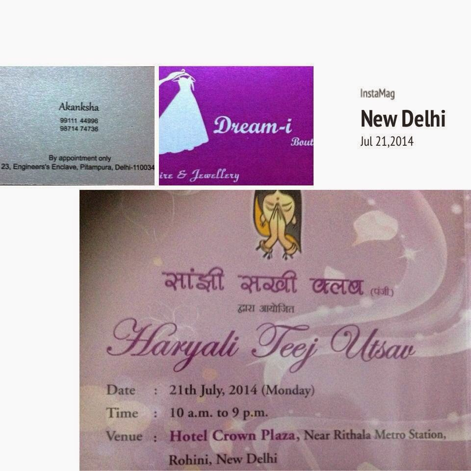 Hariyali Teej by Sanjhi Sakhi at Hotel Crown Plaza, New Delhi