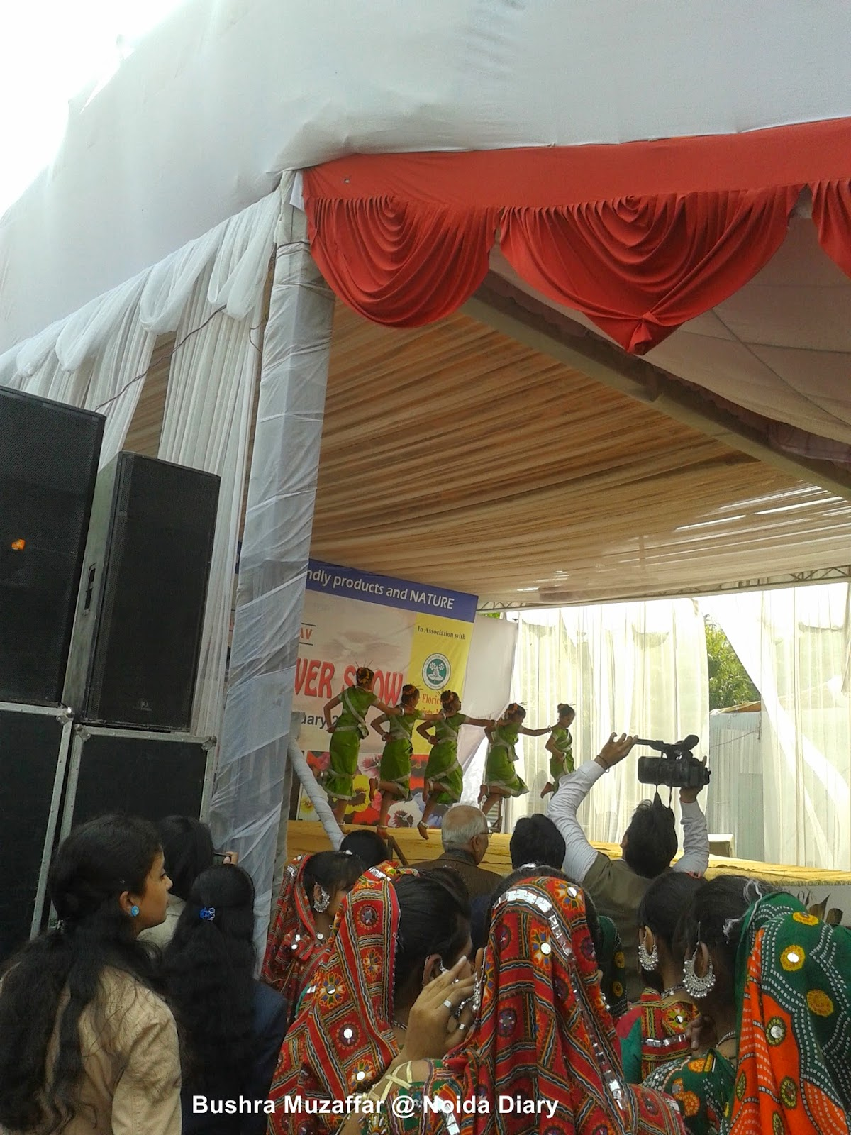 Cultural Program at Noida Flower Show