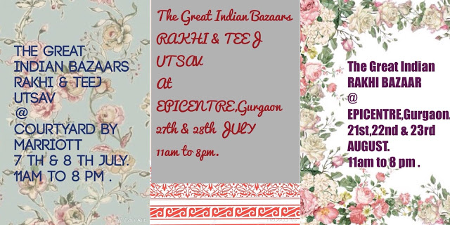 Rakhi and Teej Utsav by The Great Indian Bazaar, Gurgaon