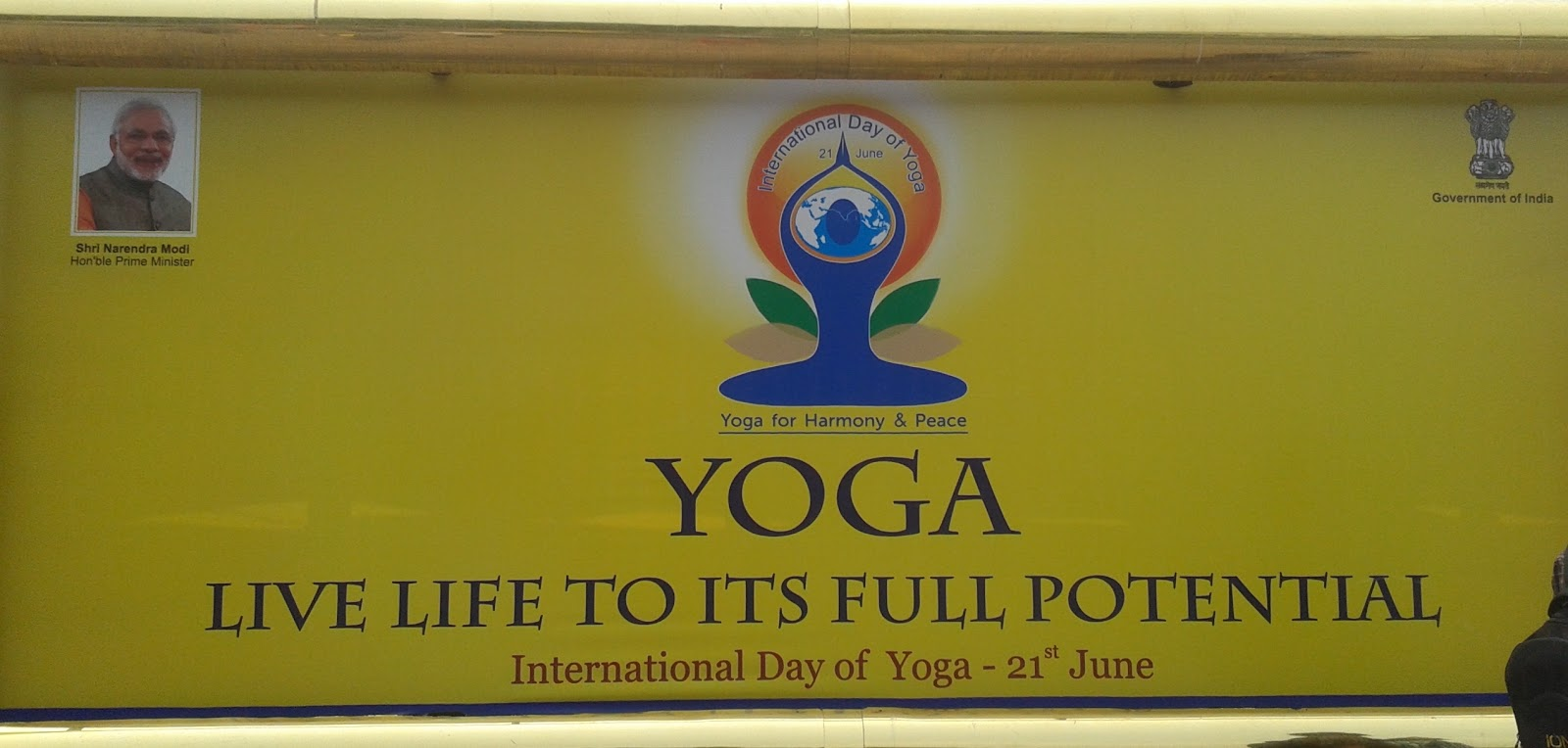 International Yoga Day 2015 in Noida