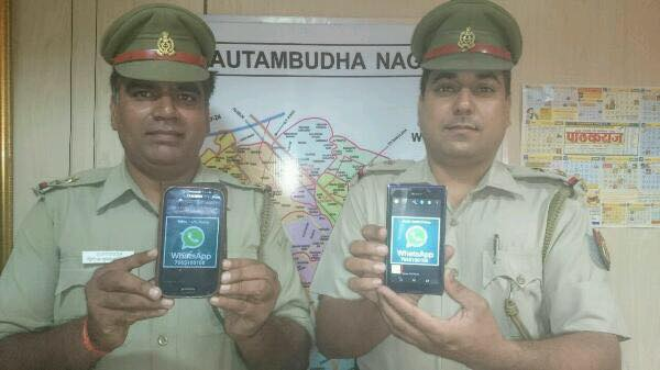 Noida Traffic Police Launches Whatsapp Helpline Number