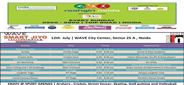 Raahgiri Noida and Wave Smart Jiyo at Noida