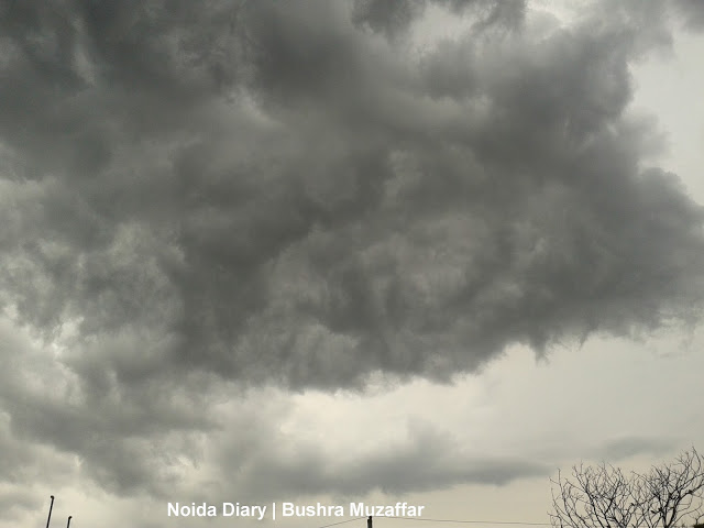Dark Cover of Cloud during Monsoon in Noida