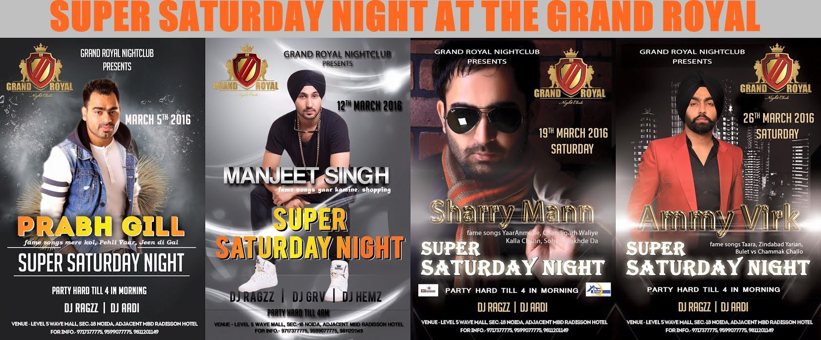 Saturday Night Fever in Noida All This March