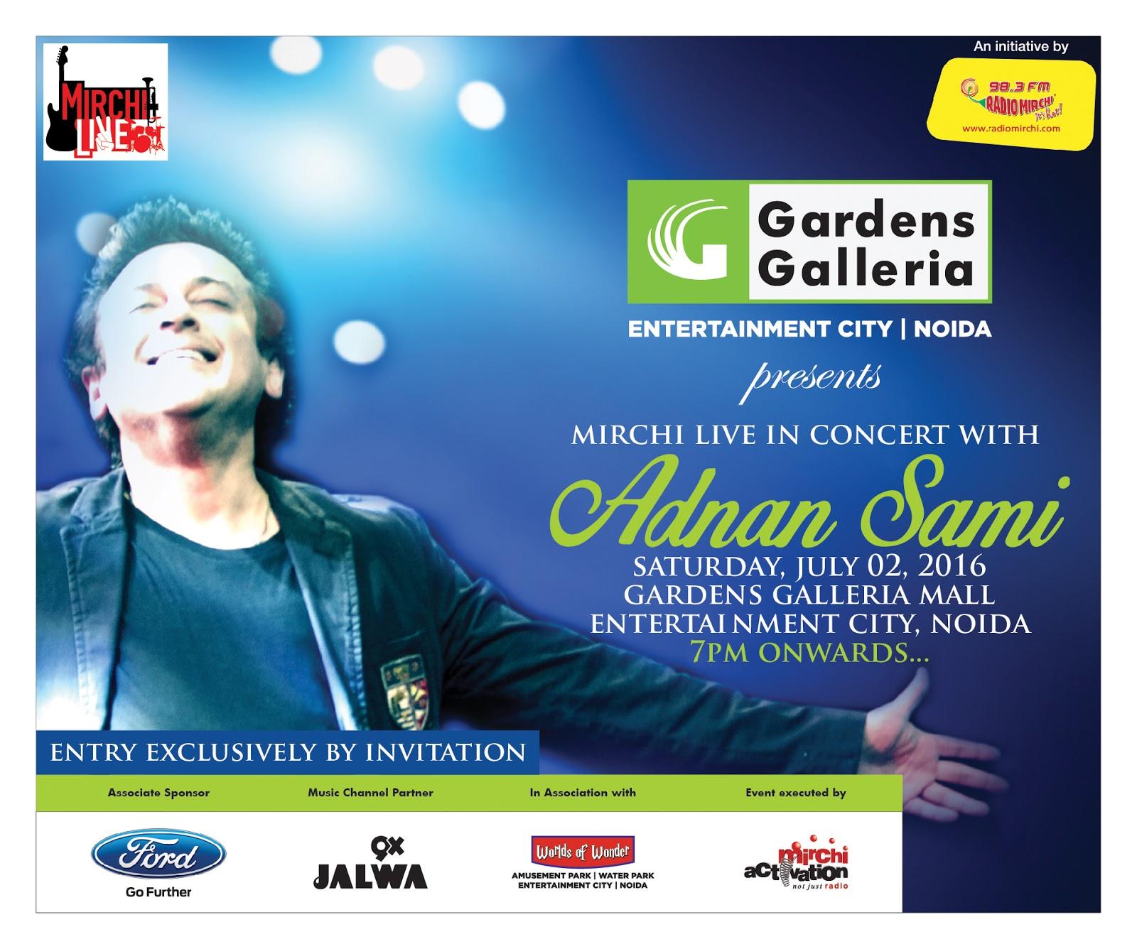 Adnan Sami Live in Concert in Noida