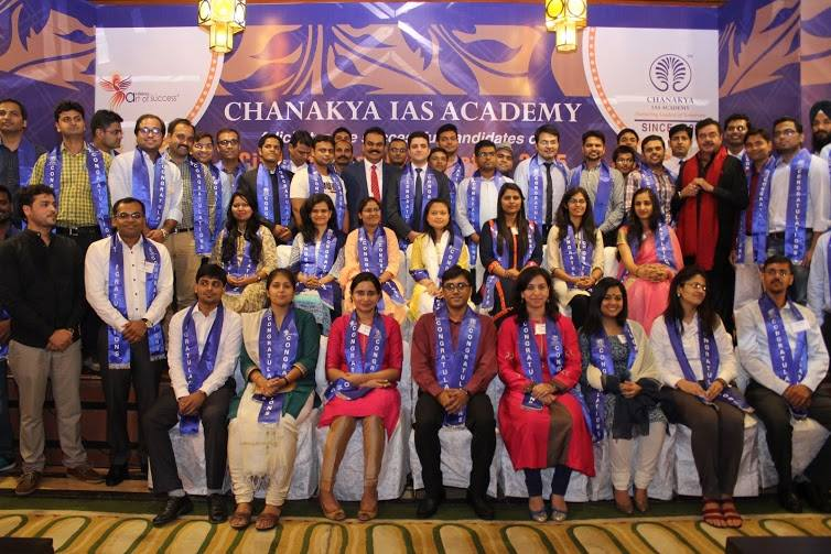 Noida Diary: Chanakya IAS Academy Felicitated Successful Candidates of their CSE 2015 Batch