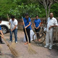 Cleanliness Drive in Noida