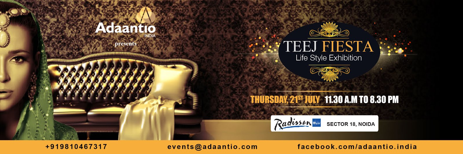 Teej Fiesta – A Fashion and Lifestyle Event by Adaantio