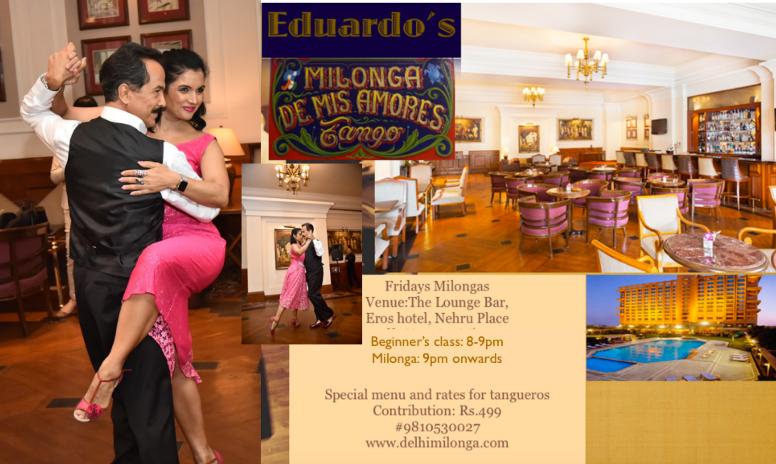 Delhi Milonga  – Tango Socials by Eduardo and Kiran