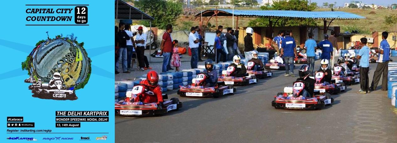 Noida Diary: Indikarting Delhi Kart Prix at Wonder Speedway Noida