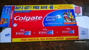 Noida Diary: Colgate Strong Teeth Pack