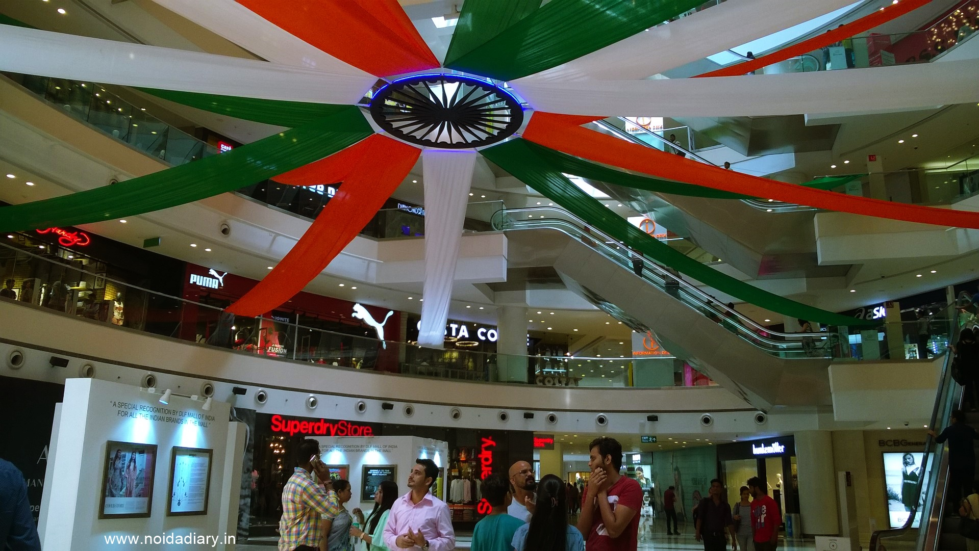 Noida independence day celebrations diary