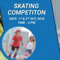 Oxelo Skating Cup Decathlon Noida in October