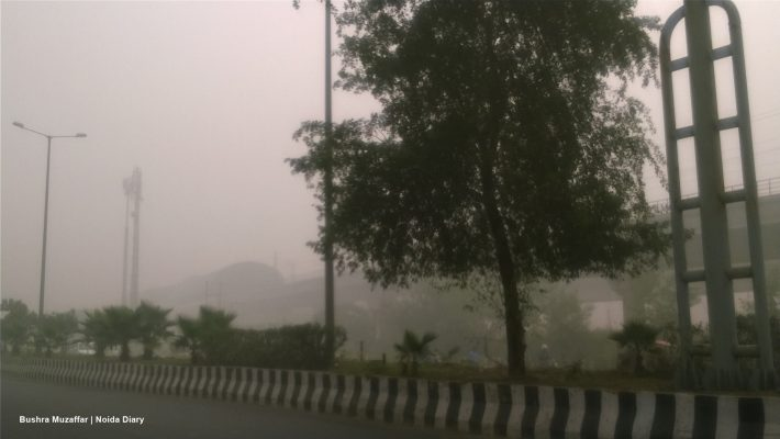 Noida Smog : Air Pollution worsens in City