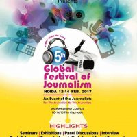 5th Global Festival of Journalism Noida