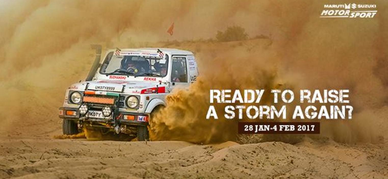 Noida Diary: 15th Maruti Suzuki Desert Storm Rally