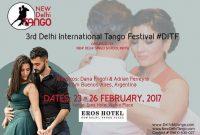 3rd Delhi International Tango Festival #DITF