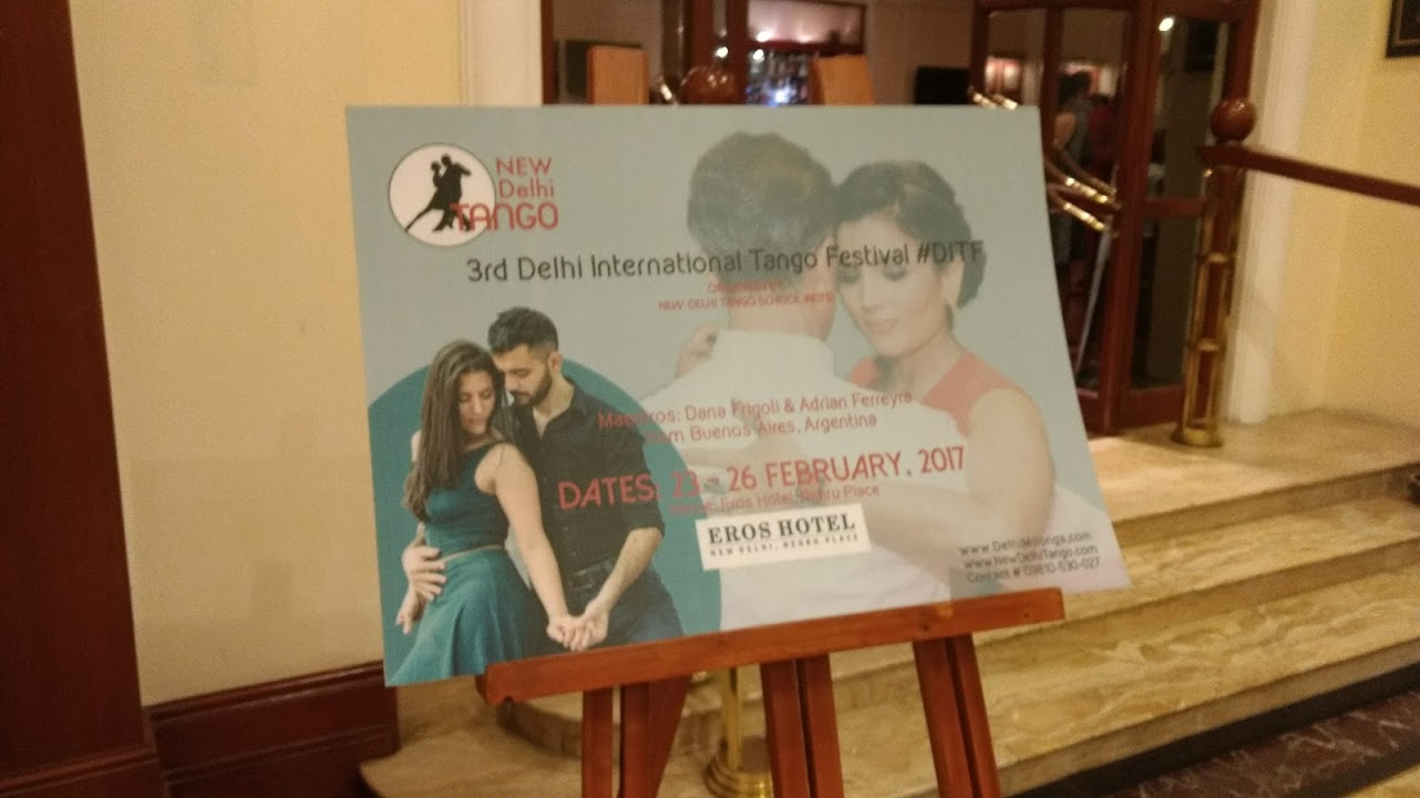 Grand Finale of 3rd Delhi International Tango Festival