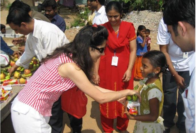 Reema Sarin at NGO