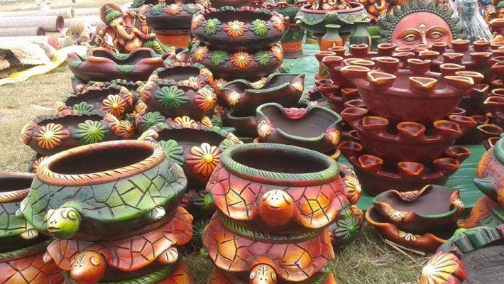 UP Crafts Mart Hosts Gandhi Handicraft Mela