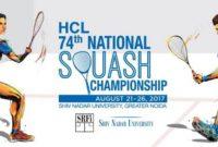 HCL 74th National Squash C'ship Winners