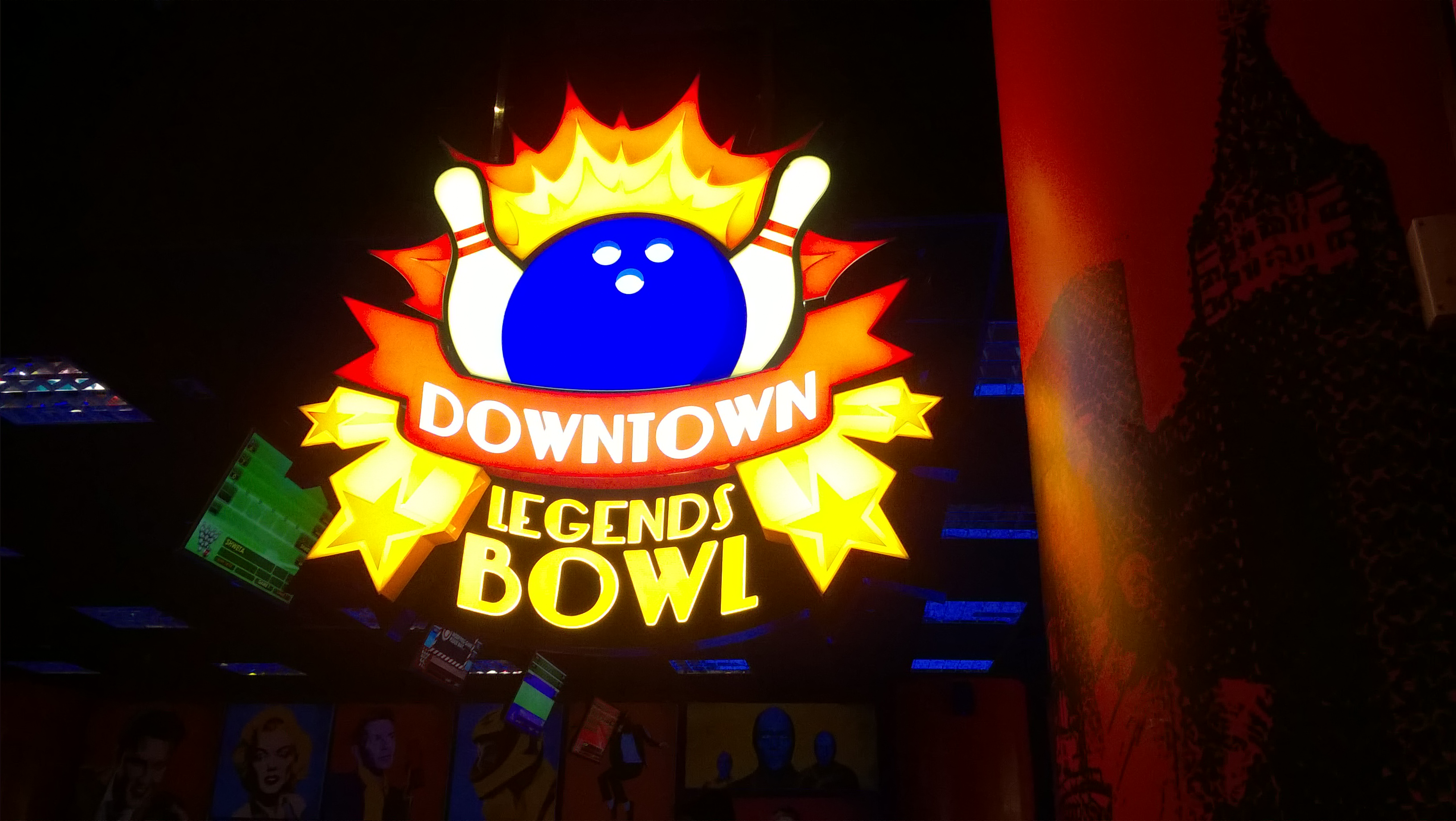 Downtown Legends Bowl at The Gaming Vegas of Noida