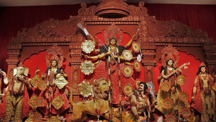 Durga Puja Pandal Hopping in Noida