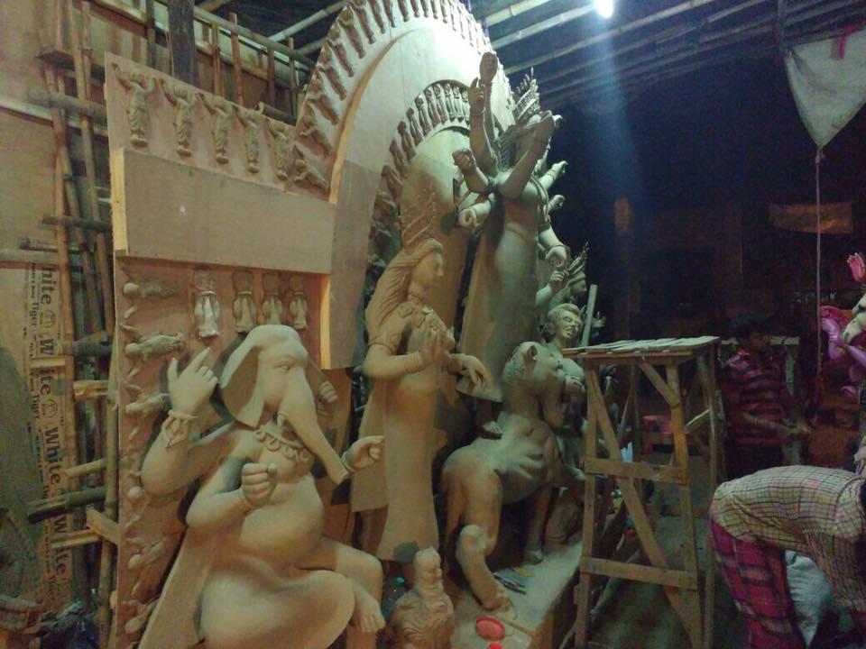 Durga Puja Pandal in Noida