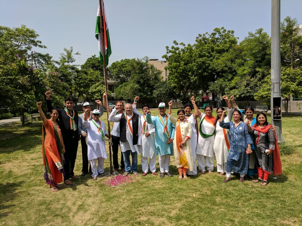Independence Day Celebrations at Sector 31