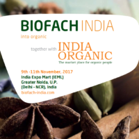 BIOFACH INDIA together with INDIA ORGANIC 2017