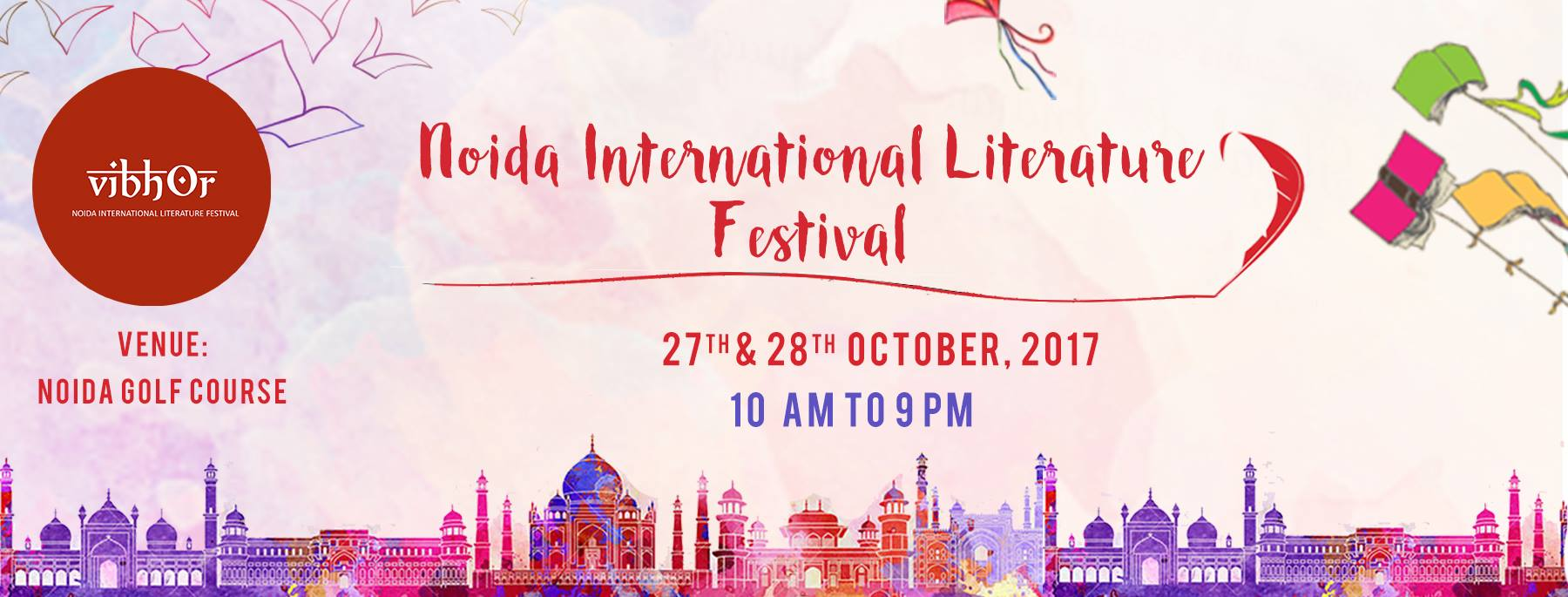 "Noida International Literature Festival - ""VIBHOR"""