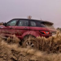 Land Rover Above and Beyond Tour in Noida