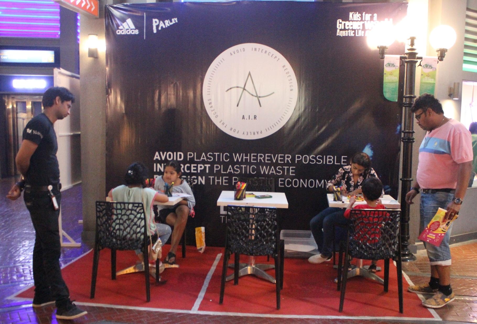 Aquatic Life - A Green Initiative by Adidas Parley at KidZania
