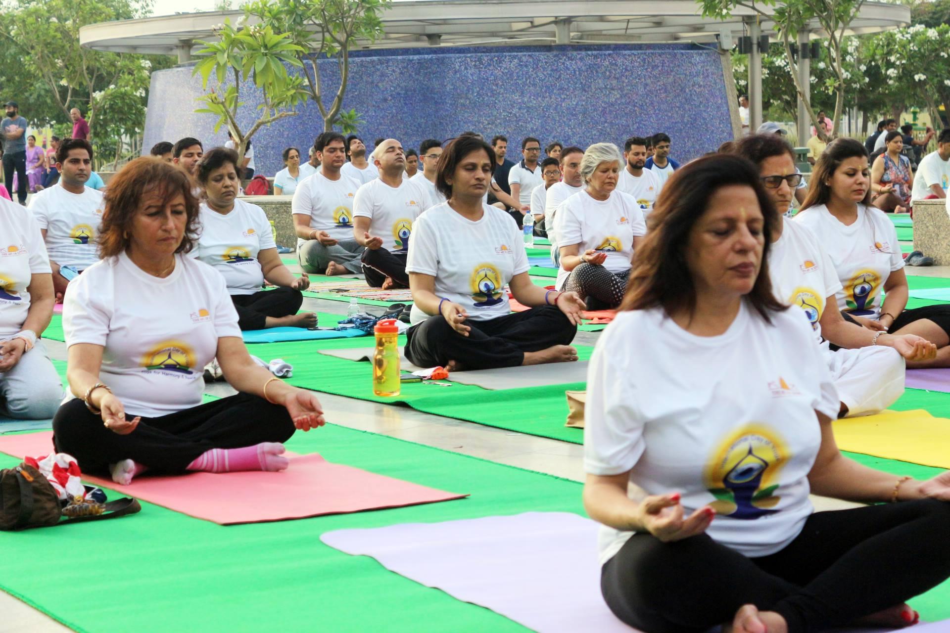 Noida Celebrates Fourth International Yoga Day